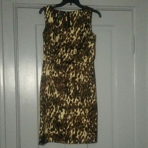 Alyx animal print sleaveless dress